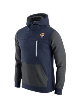 Men's Navy AV15 Fleece Pullover Hoodie